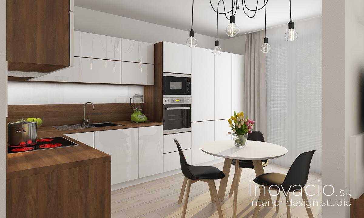 Inovacio - interiér kuchyne a obývačky Žilina 2019 - byt - Obrázok č. 4
