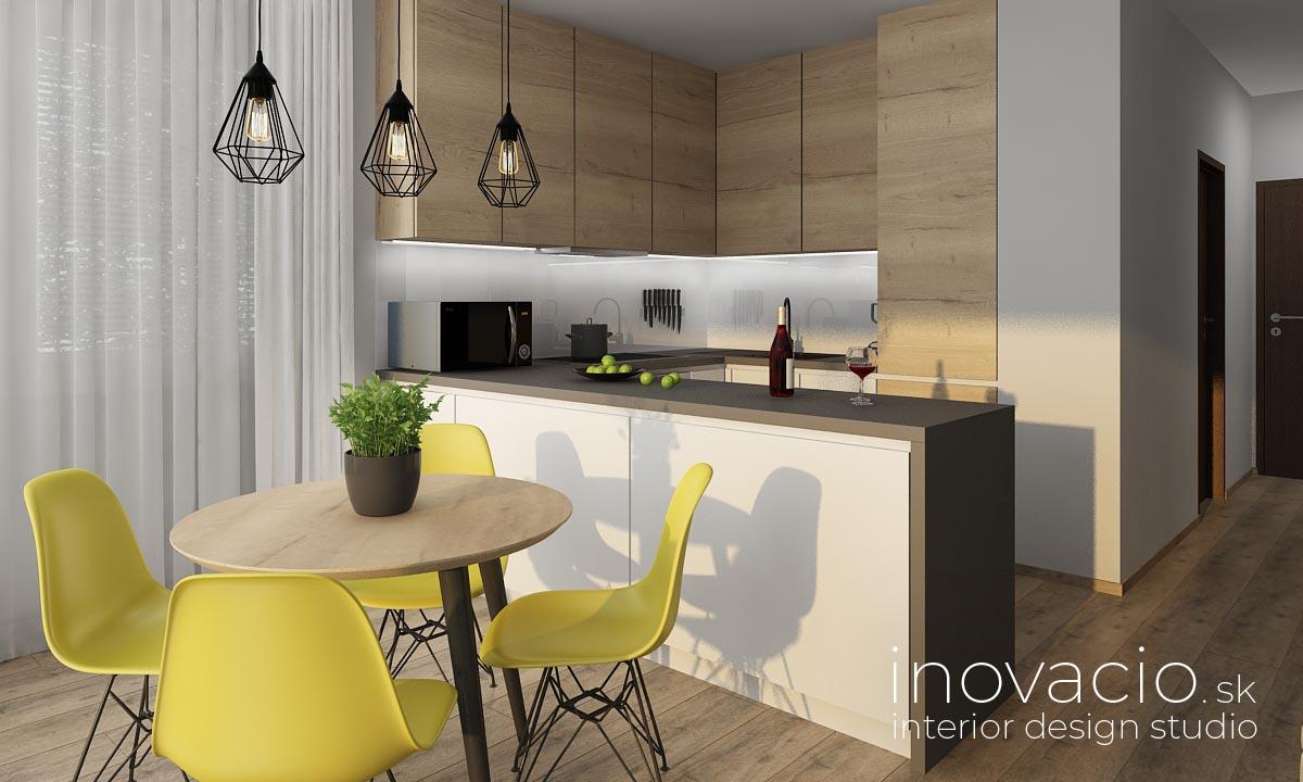 Inovacio - interiér kuchyne Bratislava 2019 - byt - www.inovacio.sk