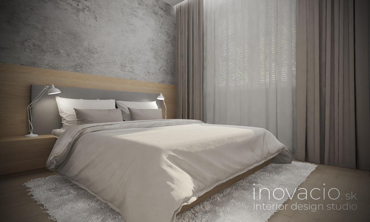 Inovacio - interiér spálne Bratislava 2019 - byt - Obrázok č. 1