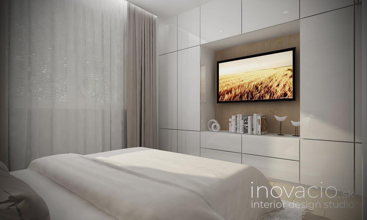 Inovacio - interiér spálne Bratislava 2019 - byt - Obrázok č. 2