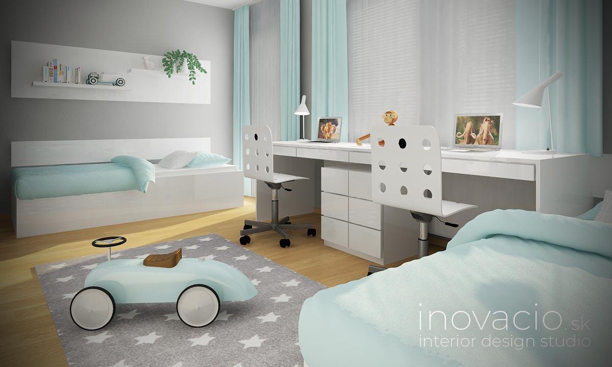 Inovacio - interiér detskej izby Chynorany 2019 - byt - Obrázok č. 1