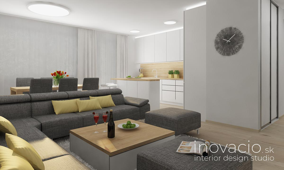 Interiér obývačky Tvrdošovce 2019 - byt - Obrázok č. 1