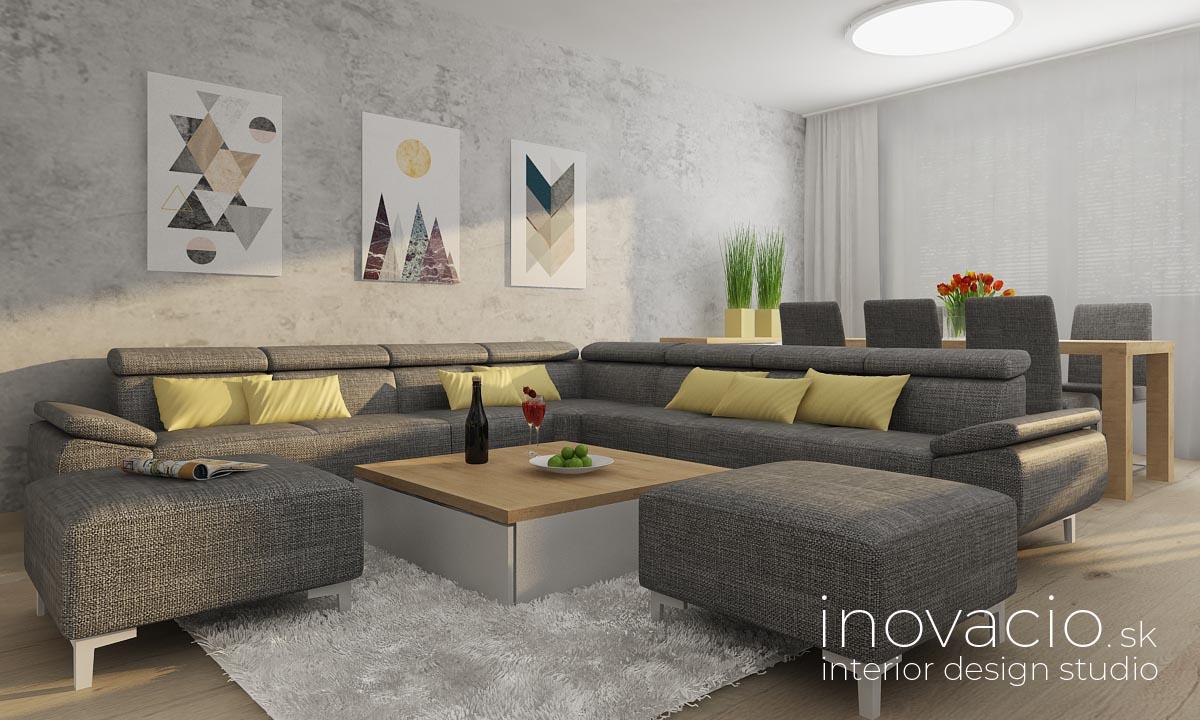 Interiér obývačky Tvrdošovce 2019 - byt - Obrázok č. 2