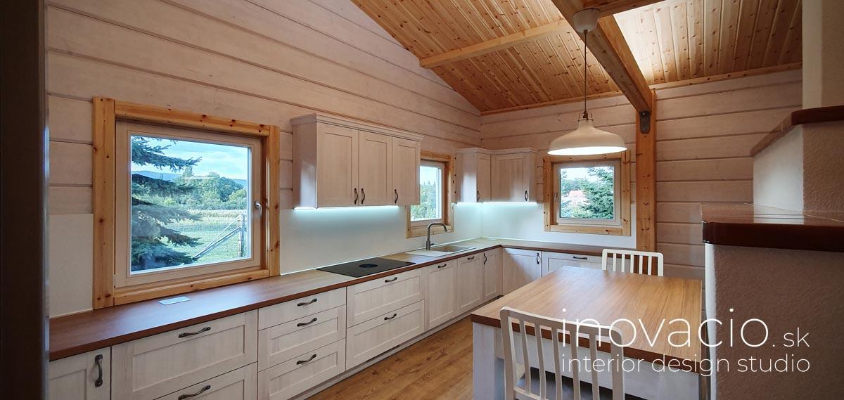 Realizácia kuchyne a obývačky Trnava - rodinný dom - Obrázok č. 2