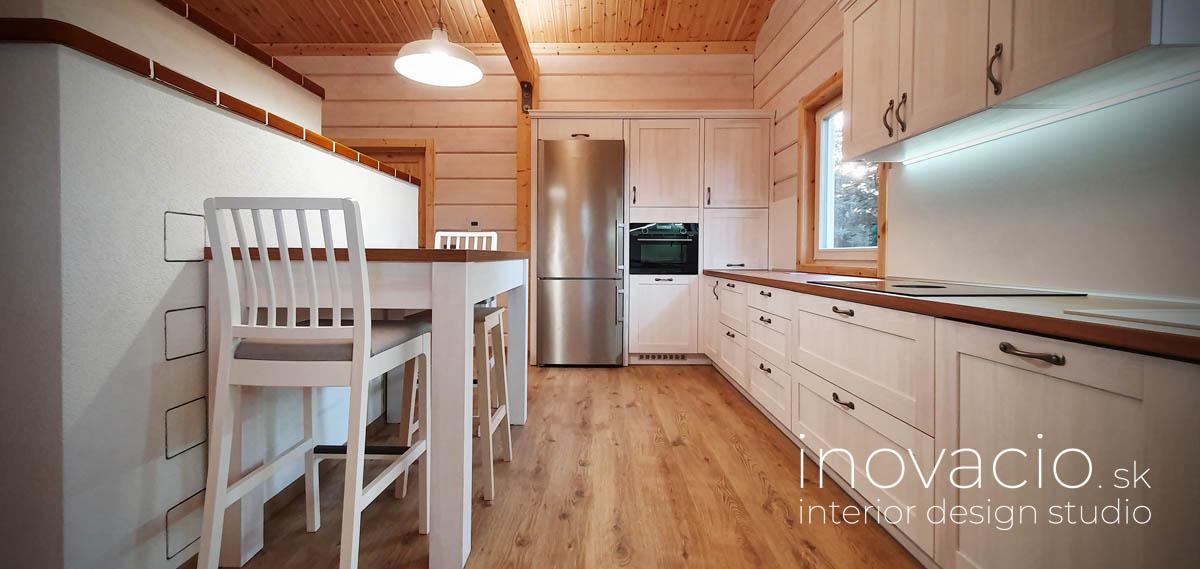Realizácia kuchyne a obývačky Trnava - rodinný dom - Obrázok č. 3