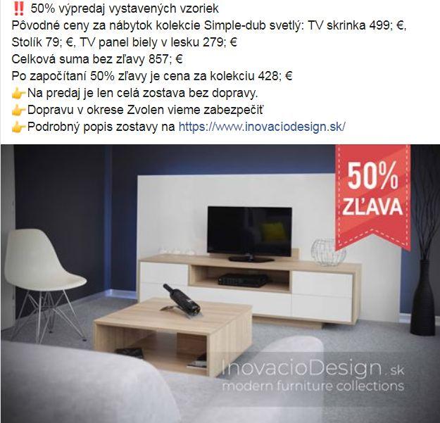 ‼ 50% výpredaj vystavených vzoriek - Obrázok č. 2