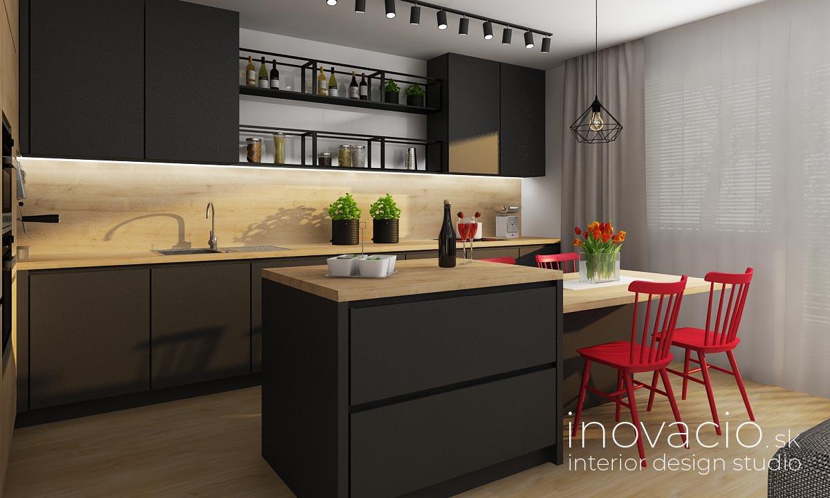 Interiér kuchyne Zvolen 2019 - byt - www.inovacio.sk
