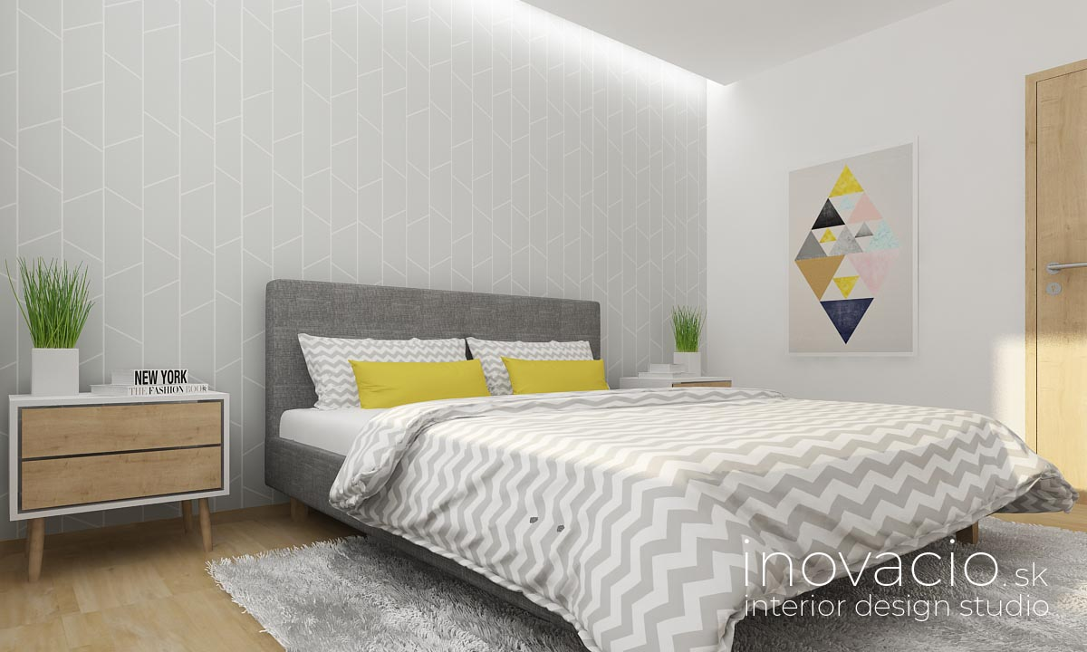 Interiér spálne Zvolen 2019 - byt - Obrázok č. 3