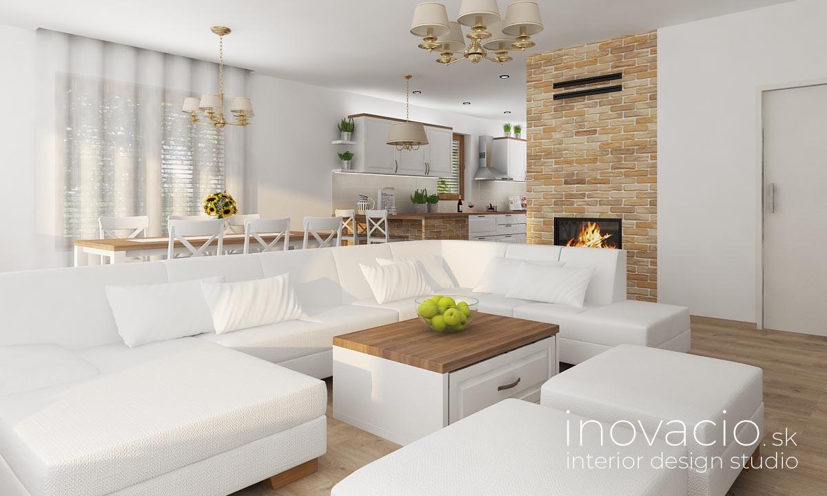 Interiér obývačky Žilina 2019 - rodinný dom - Obrázok č. 1