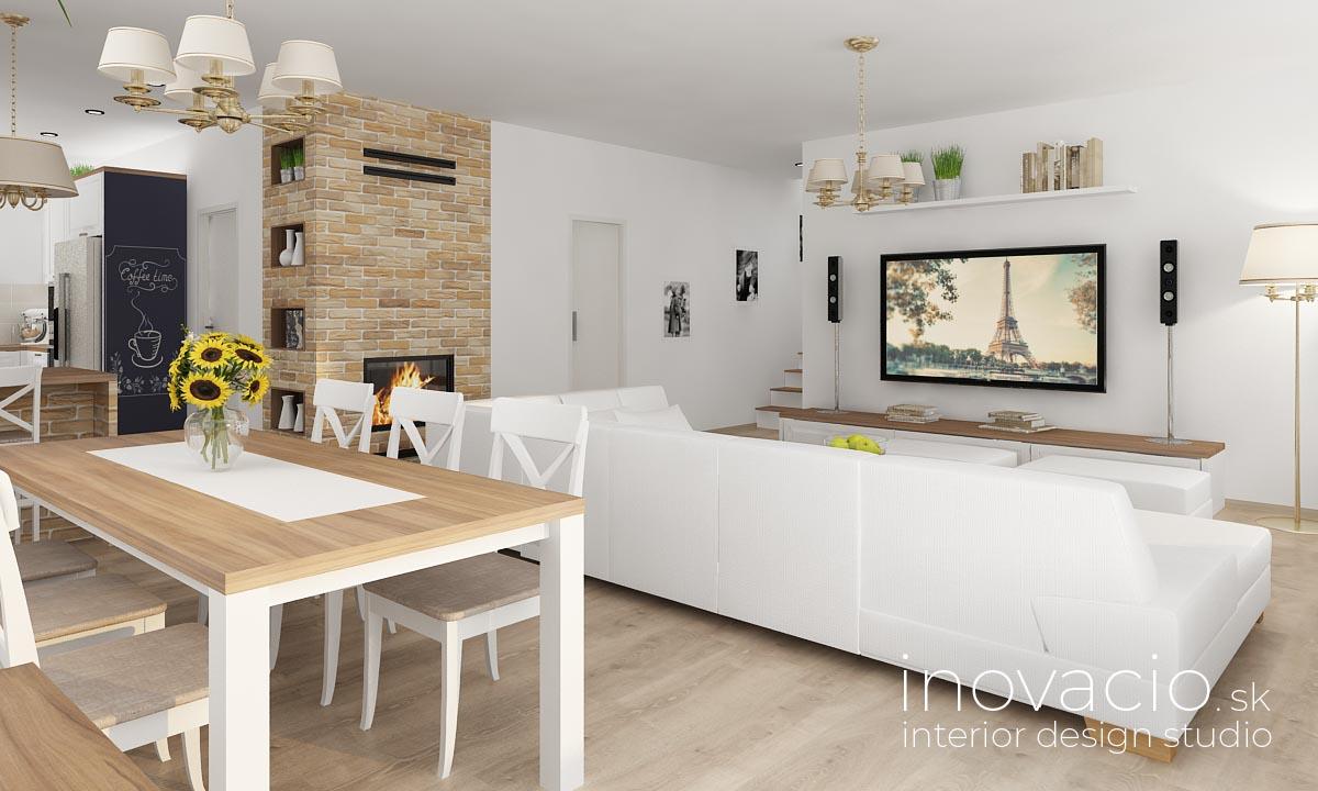 Interiér obývačky Žilina 2019 - rodinný dom - Obrázok č. 2