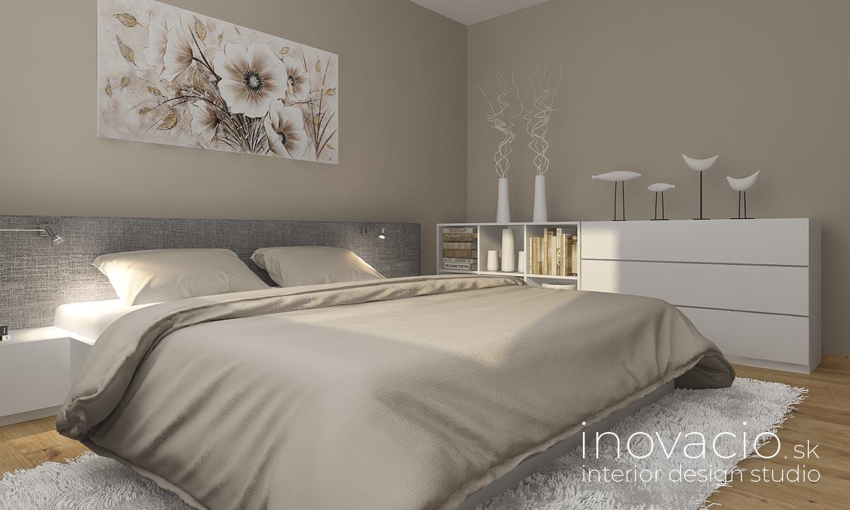 Interiér spálne Tŕnie 2020 - rodinný dom - Obrázok č. 1