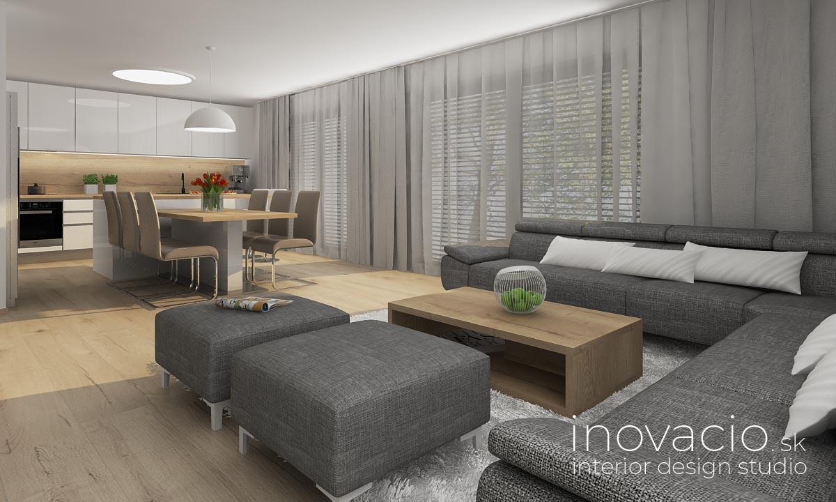 Interiér obývačky Krompachy 2020 - rodinný dom - Obrázok č. 2