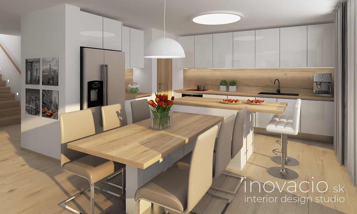 Interiér kuchyne Krompachy 2020 - rodinný dom - Obrázok č. 1