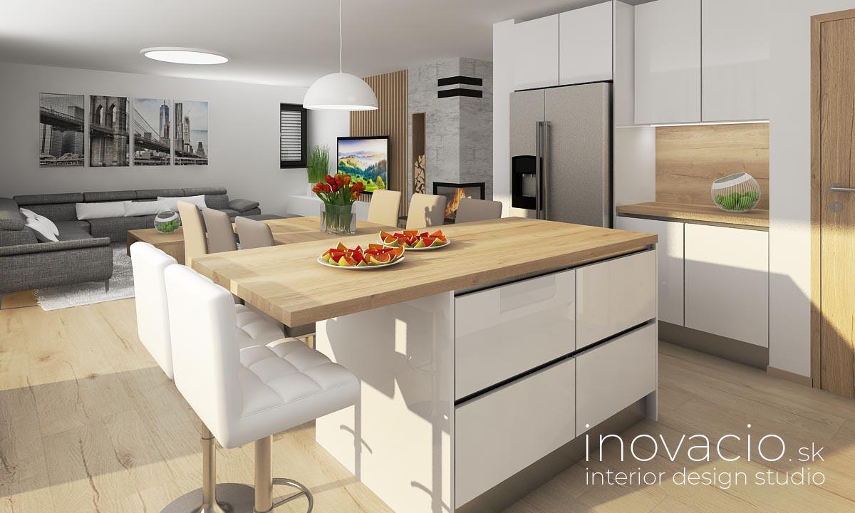 Interiér kuchyne Krompachy 2020 - rodinný dom - Obrázok č. 2