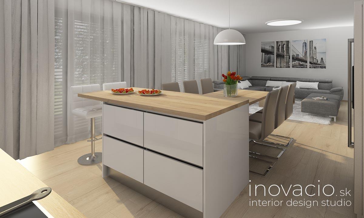 Interiér kuchyne Krompachy 2020 - rodinný dom - Obrázok č. 3