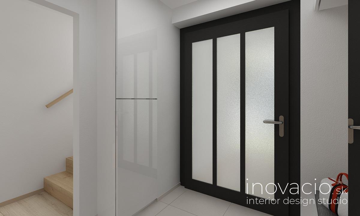 Interiér chodby Krompachy 2020 - rodinný dom - Obrázok č. 2