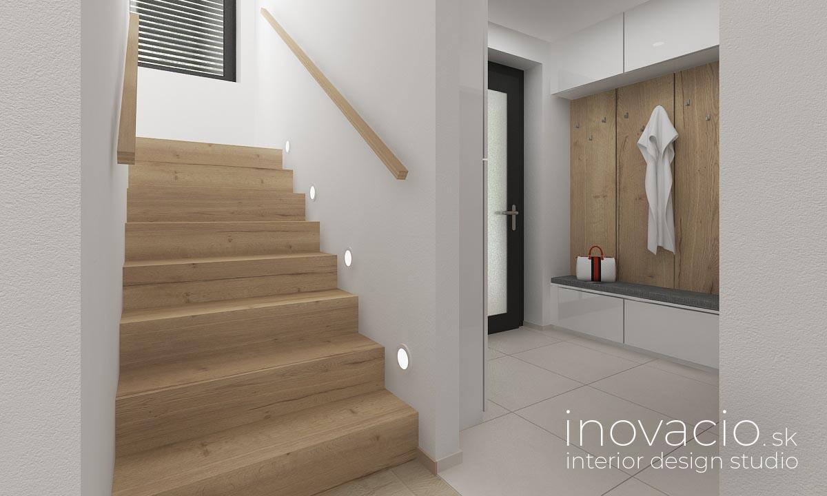 Interiér chodby Krompachy 2020 - rodinný dom - Obrázok č. 3
