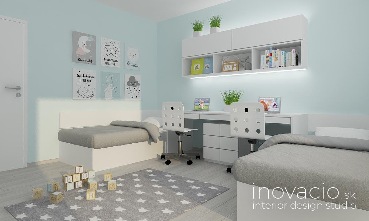 Interiér detskej izby Revúca 2020 - rodinný dom - Obrázok č. 1