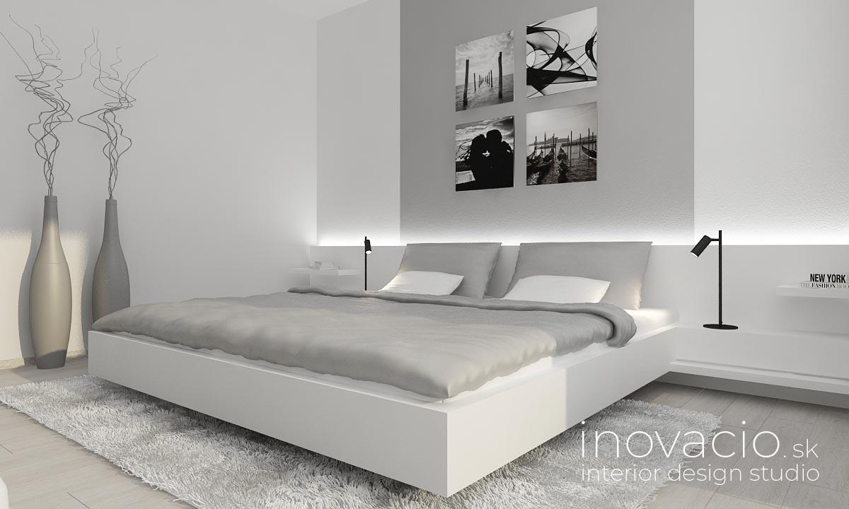 Interiér spálne Revúca 2020 - rodinný dom - Obrázok č. 1