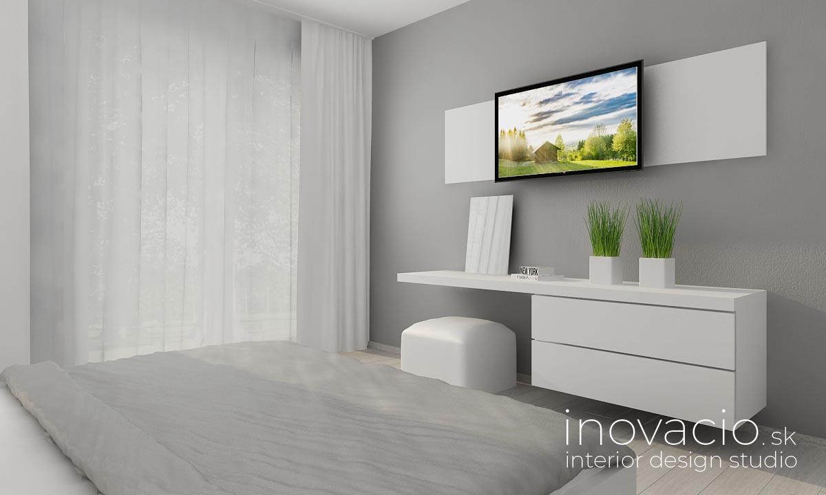 Interiér spálne Revúca 2020 - rodinný dom - Obrázok č. 3