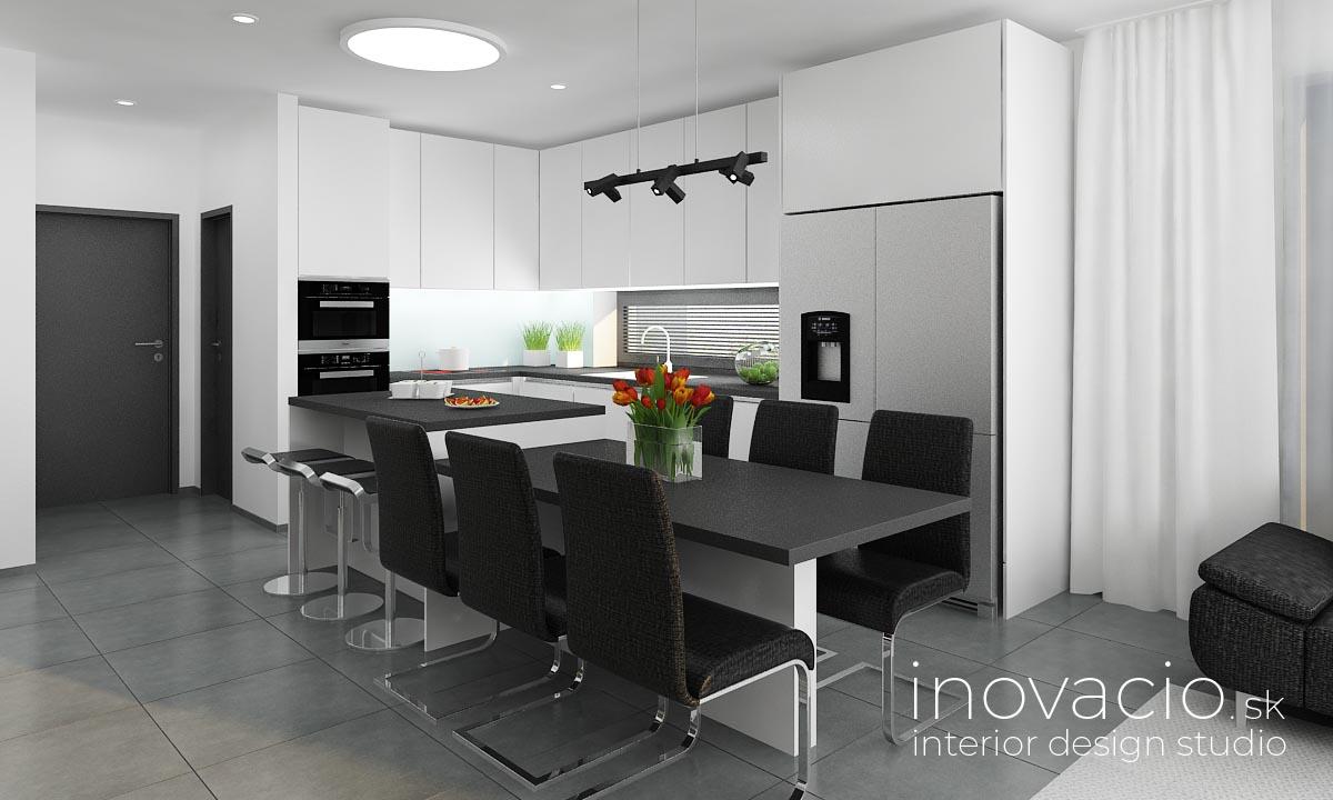 Interiér kuchyne Malé Vozokany 2020 - rodinný dom - Obrázok č. 1