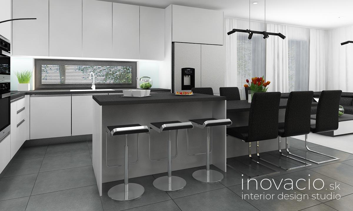 Interiér kuchyne Malé Vozokany 2020 - rodinný dom - Obrázok č. 2