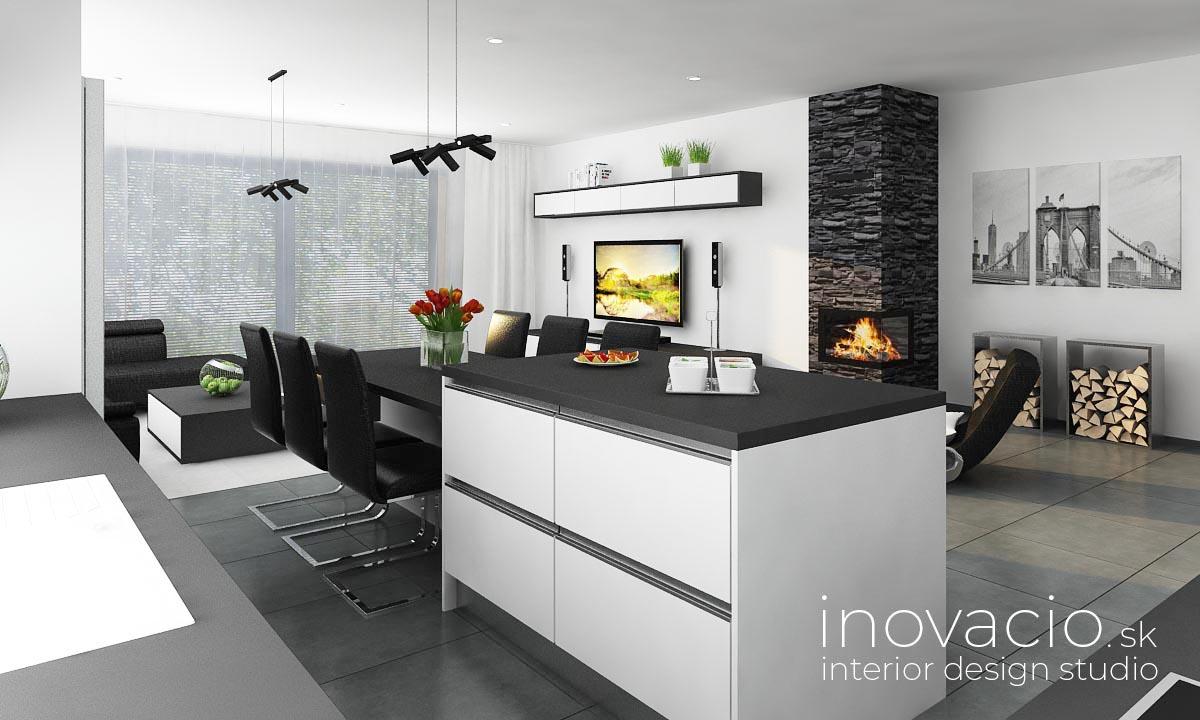 Interiér kuchyne Malé Vozokany 2020 - rodinný dom - Obrázok č. 3