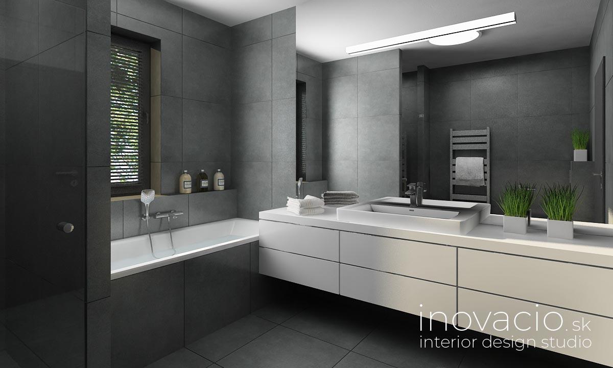 Interiér kúpeľne Malé Vozokany 2020 - rodinný dom - Obrázok č. 1
