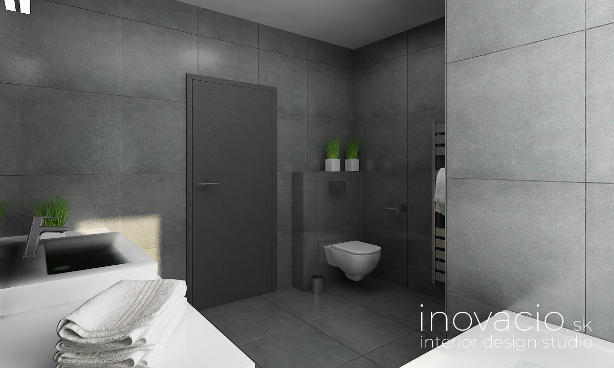 Interiér kúpeľne Malé Vozokany 2020 - rodinný dom - Obrázok č. 3