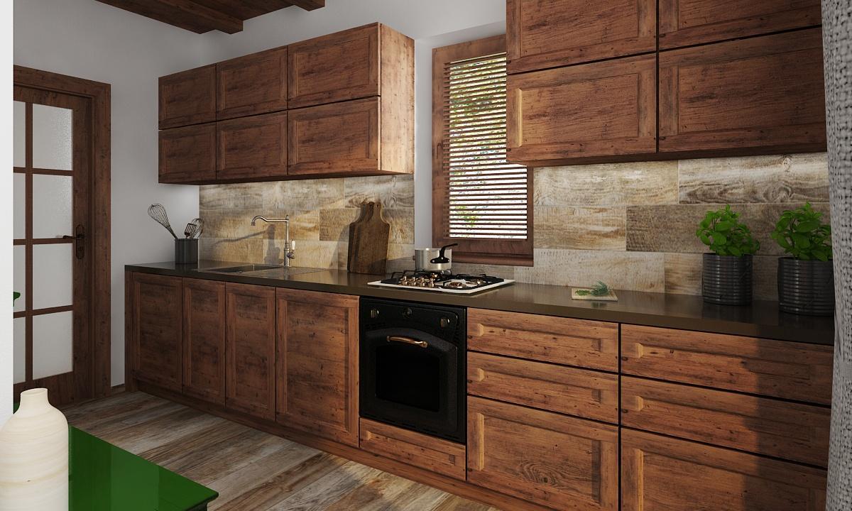Interiér kuchyne Revúca 2020 - rodinný dom - Obrázok č. 1