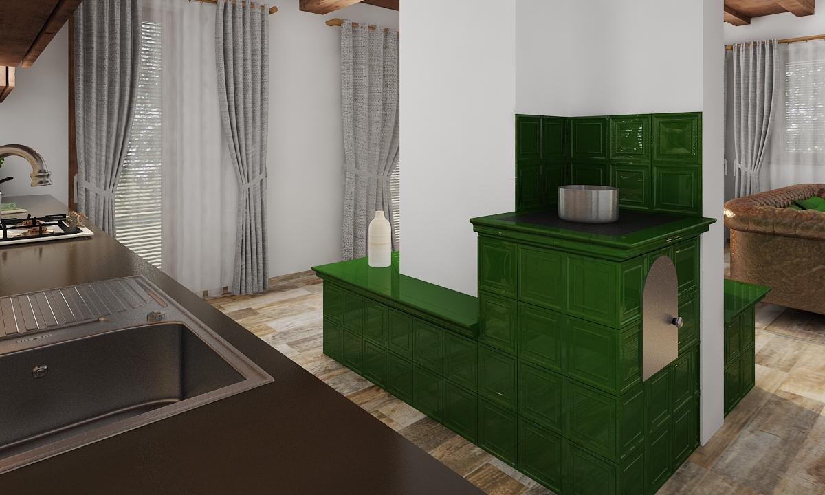 Interiér kuchyne Revúca 2020 - rodinný dom - Obrázok č. 3
