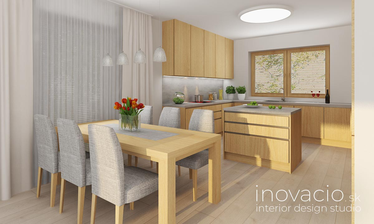 Interiér kuchyne Udiča 2020 - rodinný dom - Obrázok č. 1