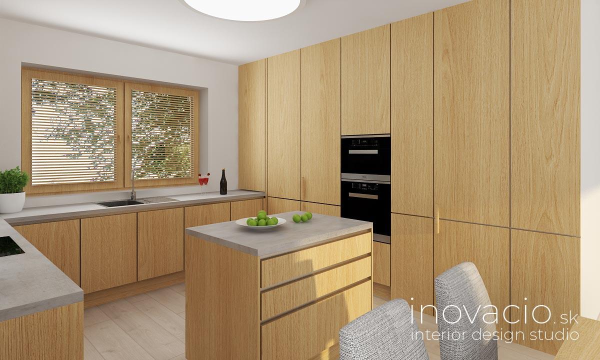 Interiér kuchyne Udiča 2020 - rodinný dom - Obrázok č. 2