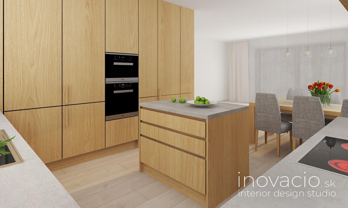Interiér kuchyne Udiča 2020 - rodinný dom - Obrázok č. 3