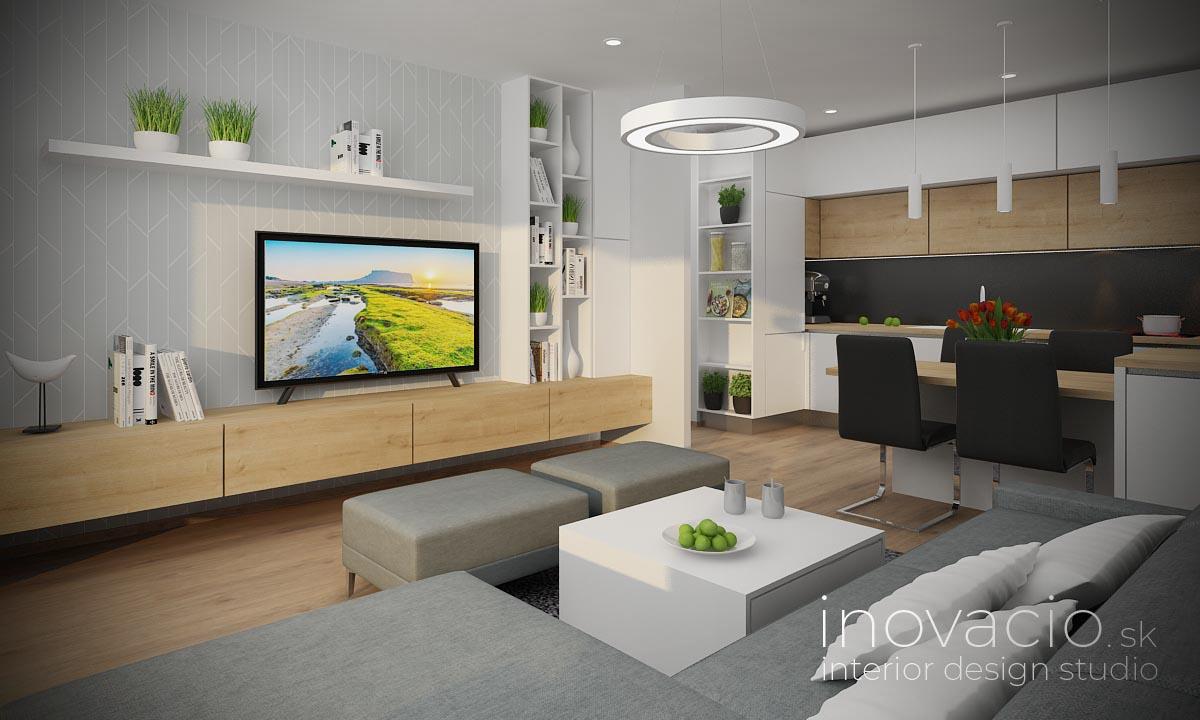 Interiér obývačky Bratislava 2020 - byt - Obrázok č. 1