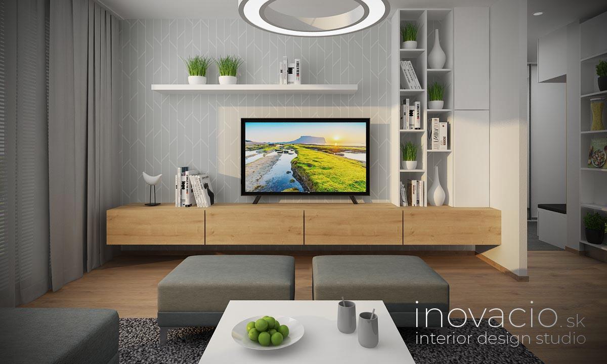 Interiér obývačky Bratislava 2020 - byt - Obrázok č. 2