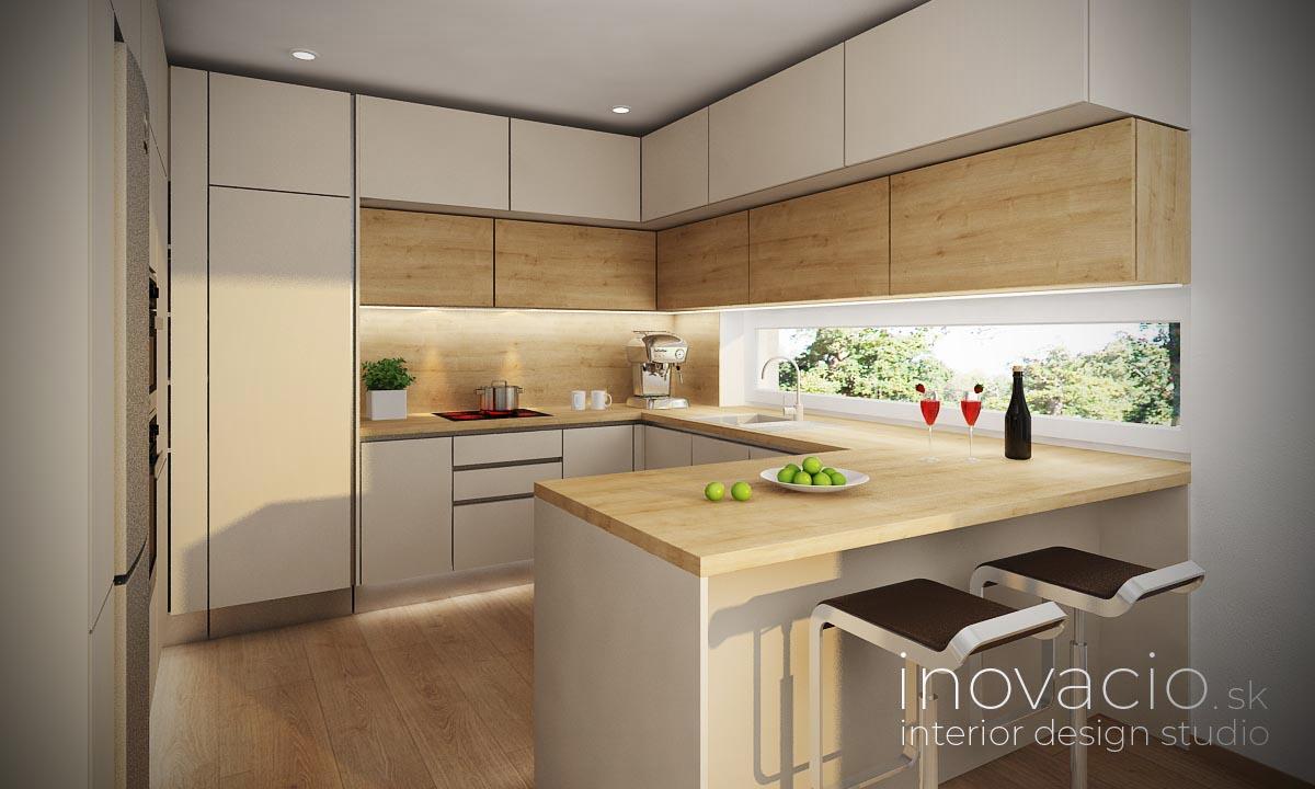 Interiér kuchyne Nesluša 2020 - rodinný dom - Obrázok č. 1