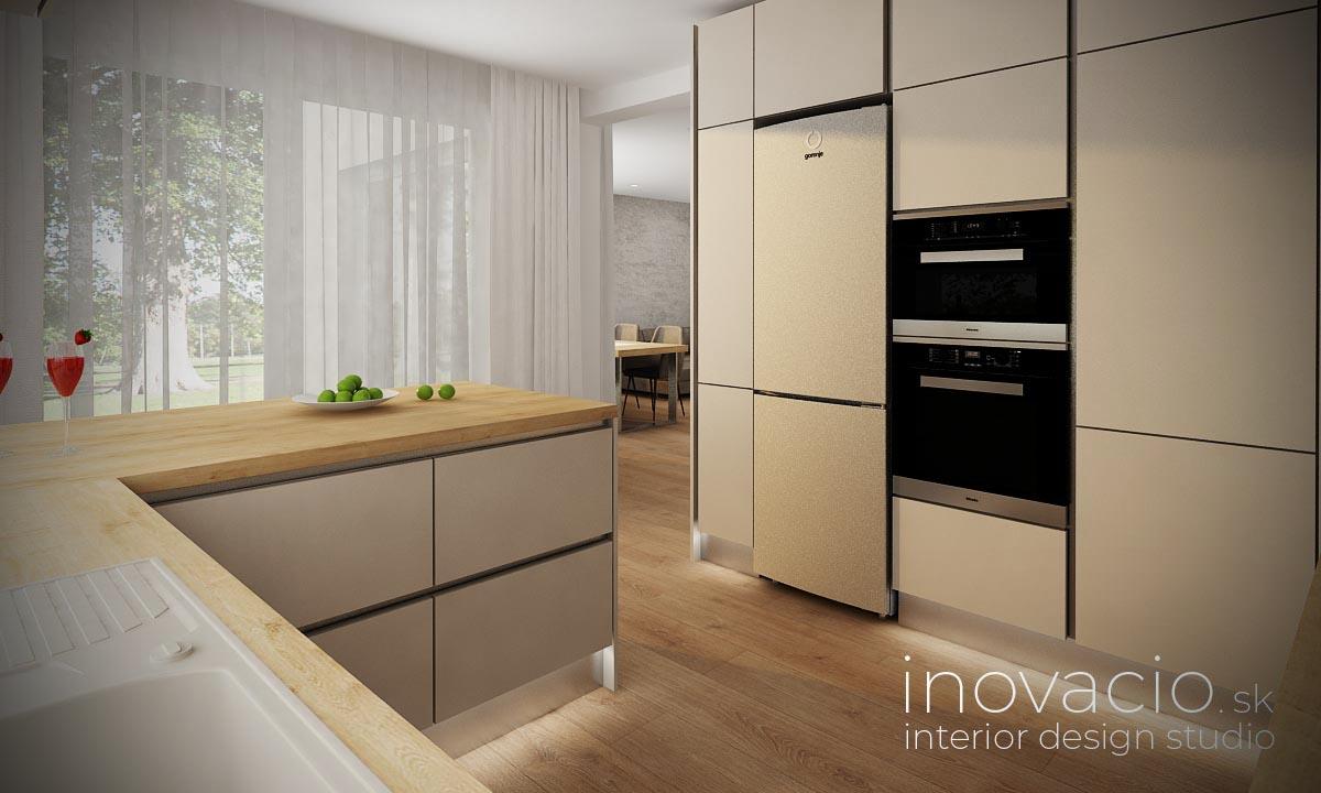 Interiér kuchyne Nesluša 2020 - rodinný dom - Obrázok č. 2