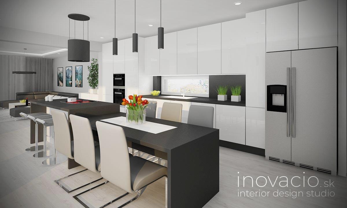 Interiér kuchyne Šaľa 2020 - rodinný dom - Obrázok č. 1