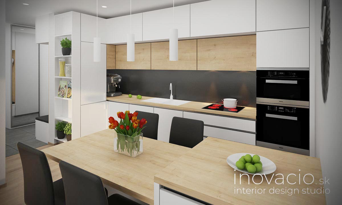 Interiér kuchyne Bratislava 2020 - byt - Obrázok č. 1