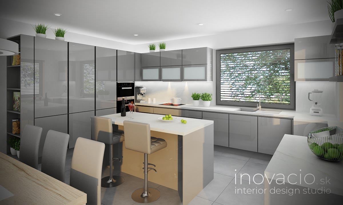 Interiér kuchyne Prešov 2020 - rodinný dom - Obrázok č. 1