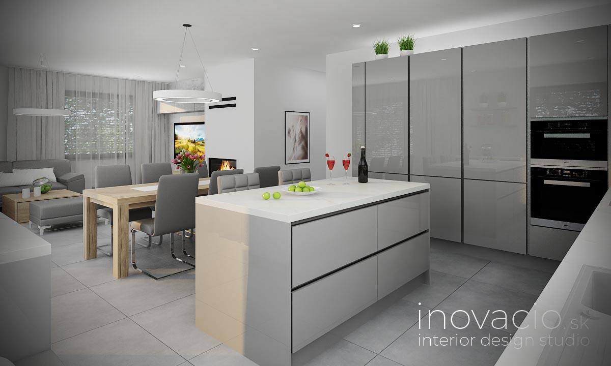 Interiér kuchyne Prešov 2020 - rodinný dom - Obrázok č. 2