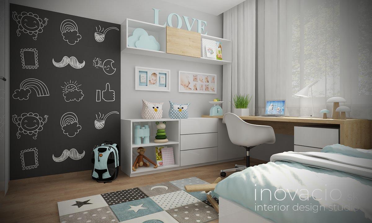 Interiér detskej izby Nesluša 2020 - rodinný dom - Obrázok č. 2