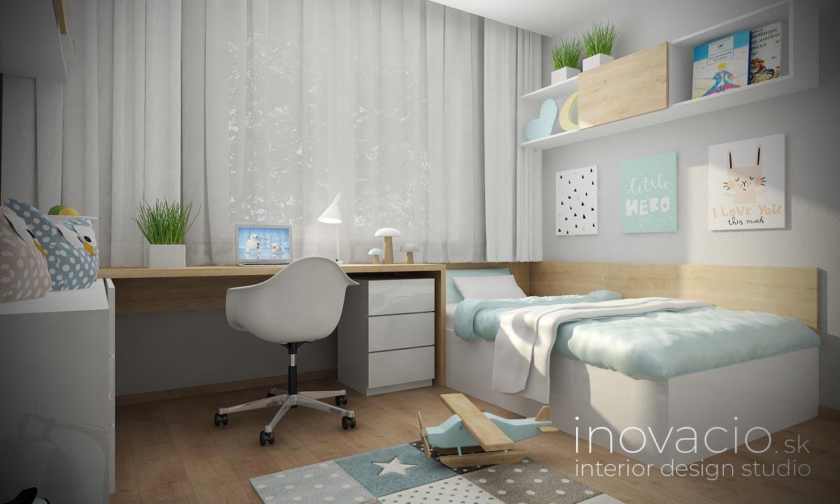Interiér detskej izby Nesluša 2020 - rodinný dom - Obrázok č. 1