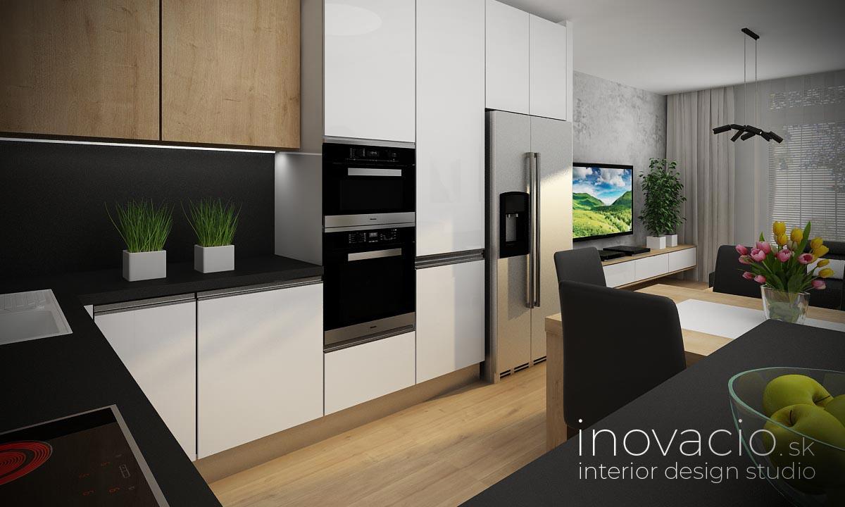 Interiér kuchyne Levice 2020 - byt - Obrázok č. 2