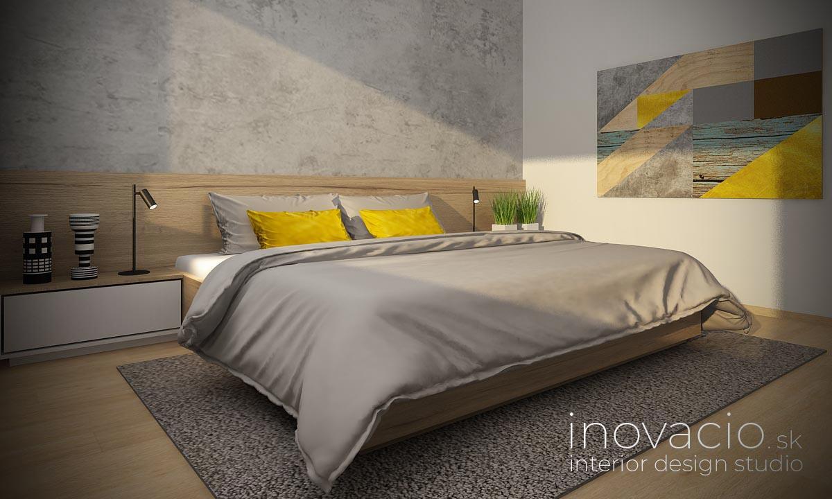 Interiér spálne Vráble 2020 - byt - Obrázok č. 1