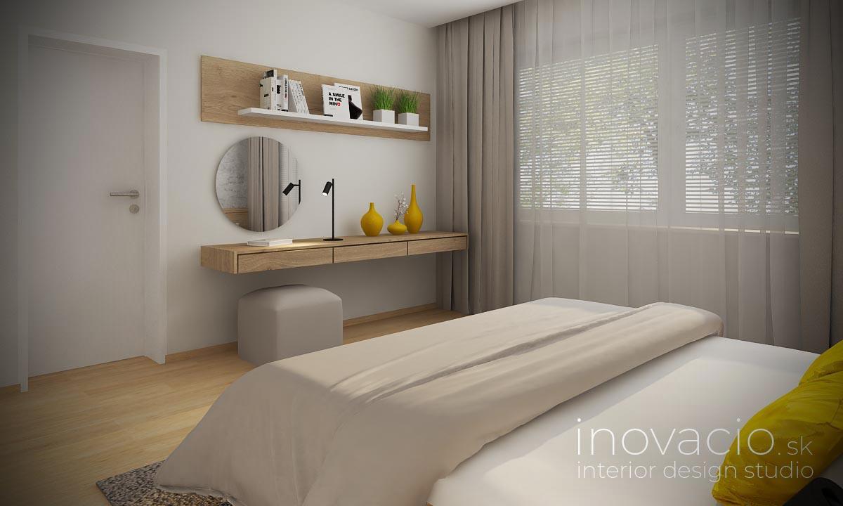 Interiér spálne Vráble 2020 - byt - Obrázok č. 2