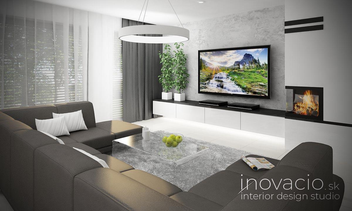 Interiér obývačky Zvolen 2021 - rodinný dom - Obrázok č. 1