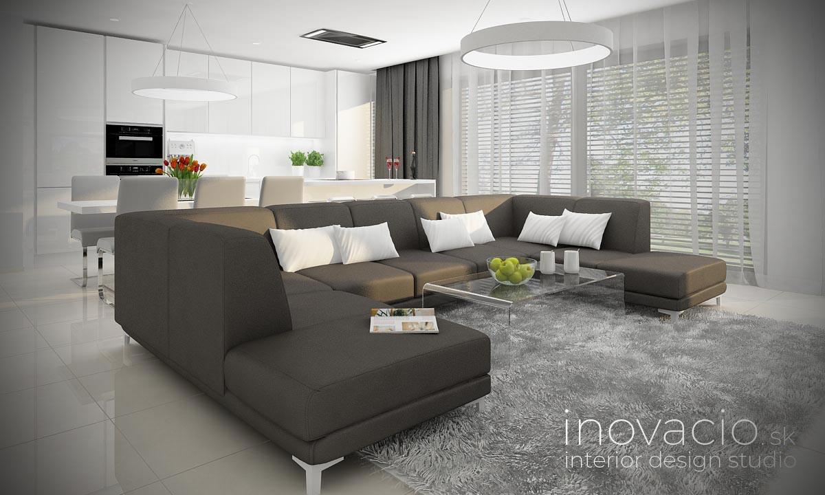 Interiér obývačky Zvolen 2021 - rodinný dom - Obrázok č. 2
