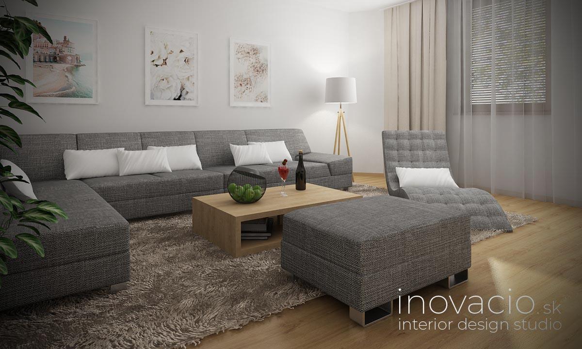 Interiér obývačky Marček 2021 - rodinný dom - Obrázok č. 2